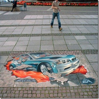 Foto Virtual 3D Lukisan jalanan lucu unik aneh blogspot com (34)