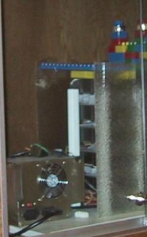 Google Lego Cabinet
