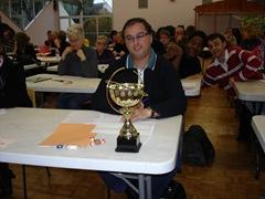 vainqueur des tournois de Normandie 2011 D.Fronteau
