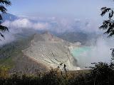 Kawah Ijen from the trail to Merapi (Daniel Quinn, July 2010)