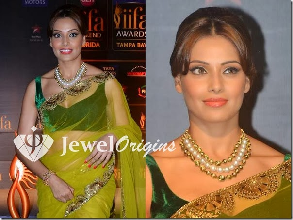 Bipasha_Basu_Pearl_Necklace