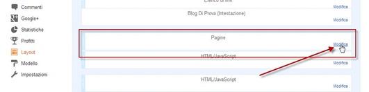 configurazione-menù-pagine