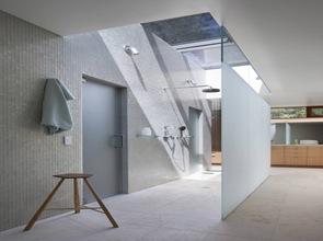 baño moderno iluminacion natural