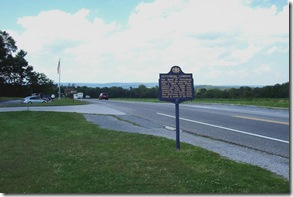 Gettysburg Campaign about First Day of Battle along U.S. Route 30