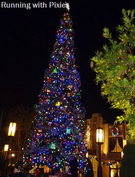 California Adventure Christmas Tree