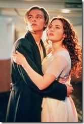 Leonardo DiCaprio_Kate Winslet in TITANIC 3D opens April 7