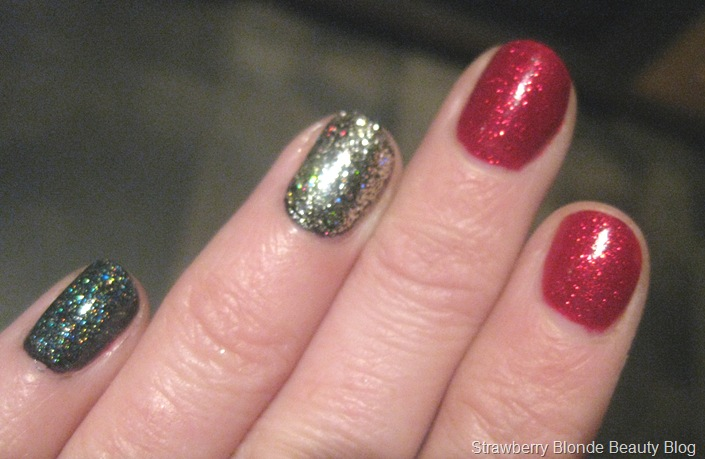 Pixi-red-silver-white-Glitter-Nailpolish-Trio-swatch-pics