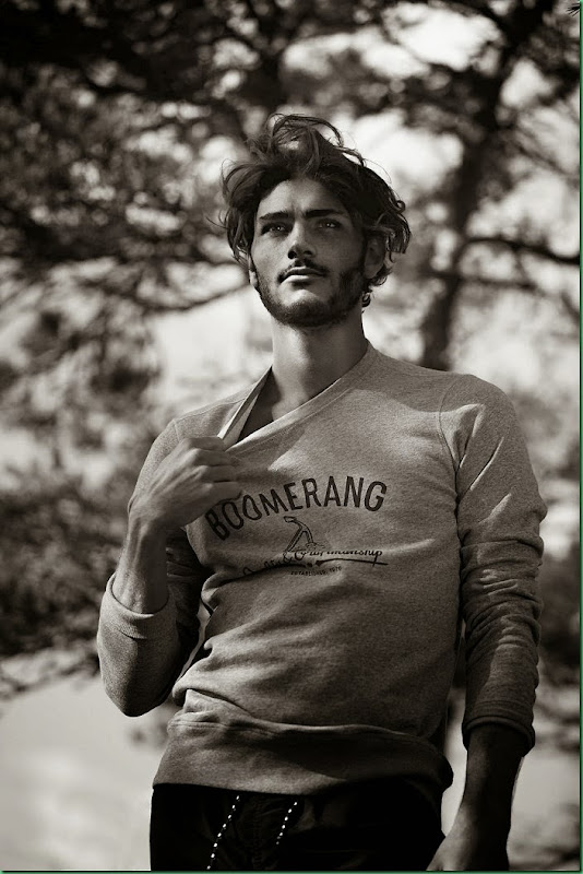 Oscar Spendrup for Boomerang S/S 2014 Campaign