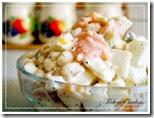 zkotemwkuchni.dieta dukana.sałatka białkowa z łososiem