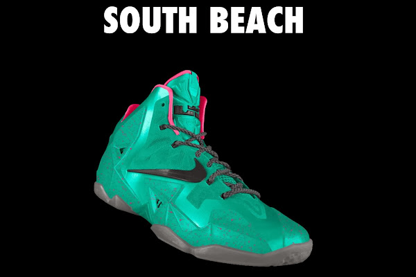 A Decade of Moments  NIKEiD LeBron XI 8220South Beach8221
