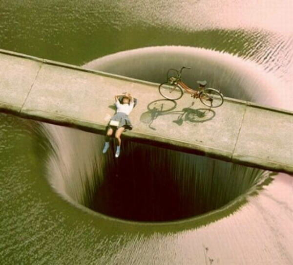 Dam Drain in California