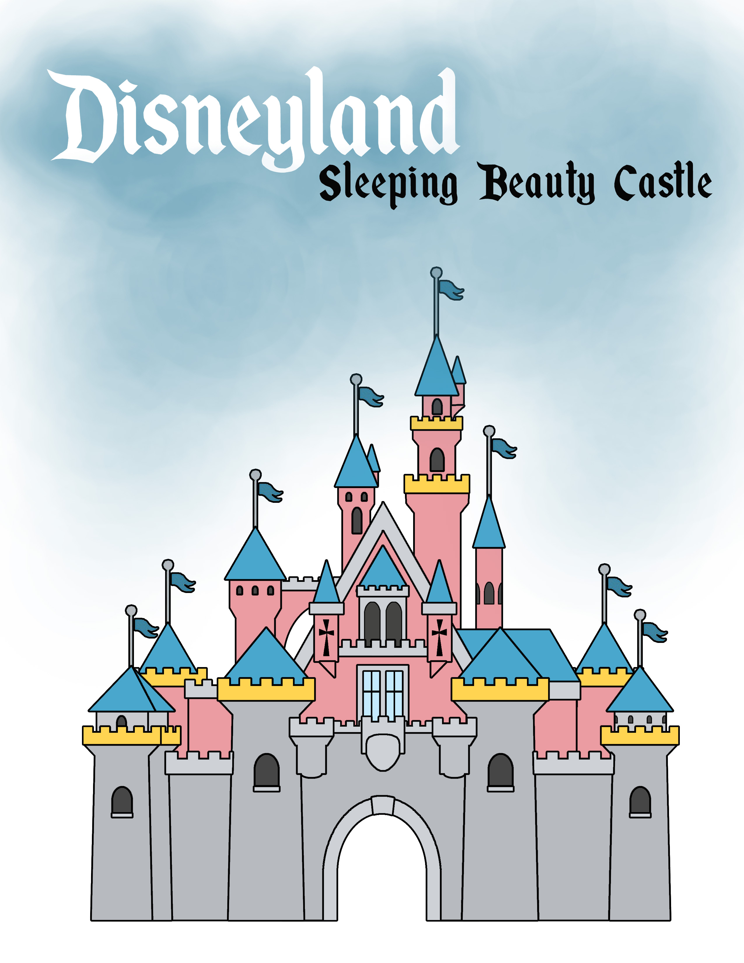 Disneyland Castle Drawing Castle+master+dl.jpg Sleeping Beauty Castle Coloring Pages