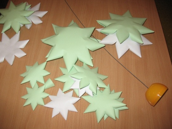 árbol navidad cartulina  blogcolorear-com (1)