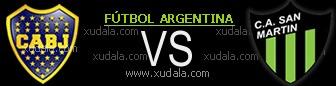 Boca Juniors vs San Martin de San Juan