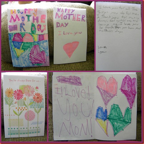 Mothers day card collage