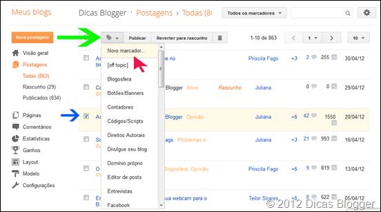 novoblogger-marcadores
