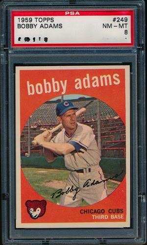 1959 Topps 249 Bobby Adams
