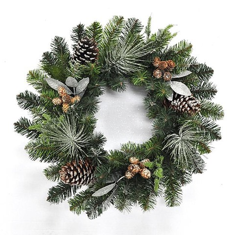 kmart silver bay wreath