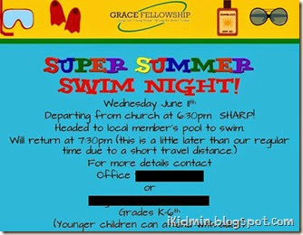 swim night ikidmin