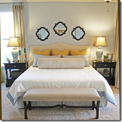 Bed 2 Nightstands height- Christi Holcombe for Houzz