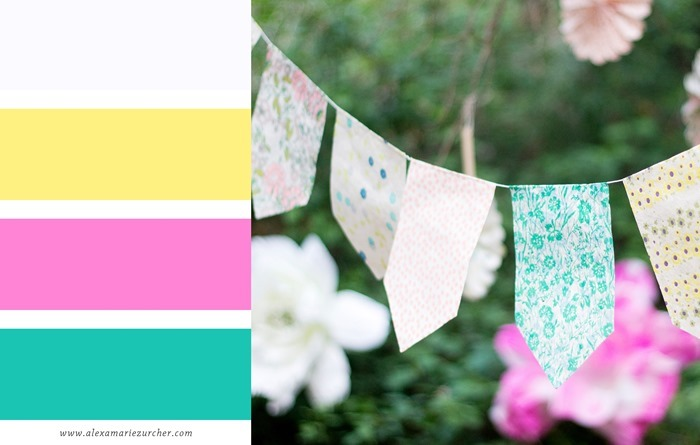 birthday color palette
