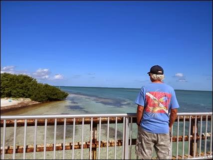 View from Sunshine Key Bridge
