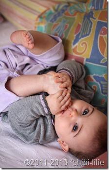 bebes descalzos by chibi