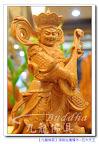 【佛教護法神~四大天王】東方持國天王-頂級台灣檜木精緻雕刻@九龍佛具