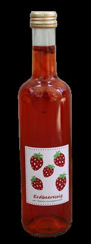 Erdbeeressig