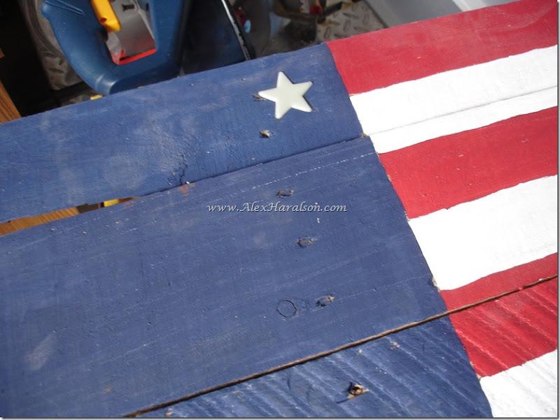 Pallet Wood American Flag10