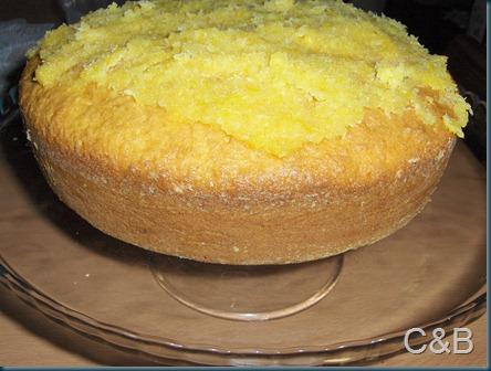 Pão de ló de laranja e coco I