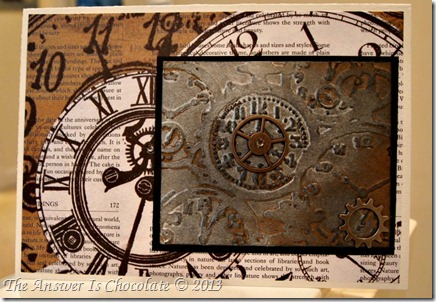 Distressed Watch Card