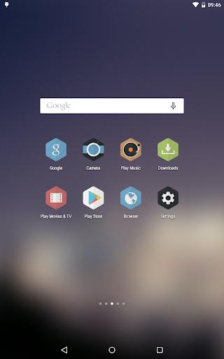 Hexacon - Icon Pack - screenshot