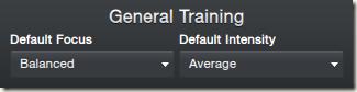 General Training in FM 2013