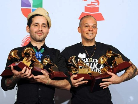 Ganadores de los Grammy Latino 2011