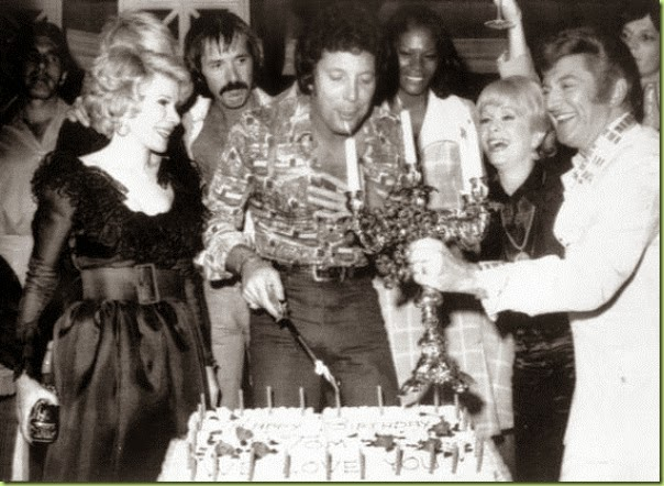 1974 TOM JONES BIRTHDAY joan rivers liberace