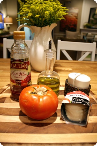 caprese salad ingredients