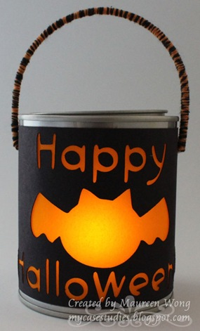 Mini Halloween Votive Pail