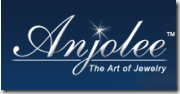 Anjolee. The Art of Jewelry. Logo