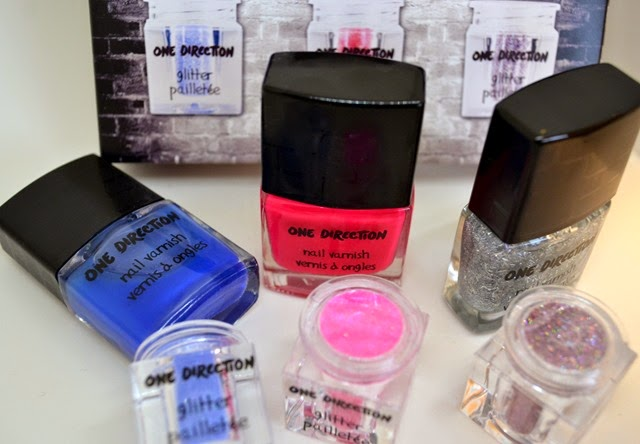 Makeup by One Direction Rock Me Nail Varnish Kit Review