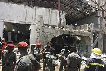 Newspaper-Office-Bombings-Kill-7-in-Nigeria