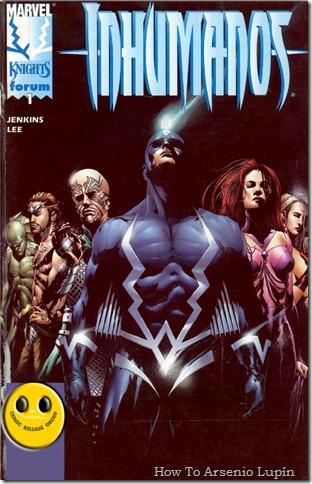 2012-08-15 - Inhumanos Vol2 - Marvel Knights Los Inhumanos