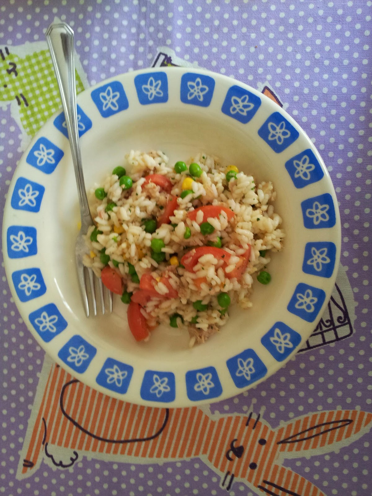 La cucina delle nonne insalata di riso - Nonne in cucina ...
