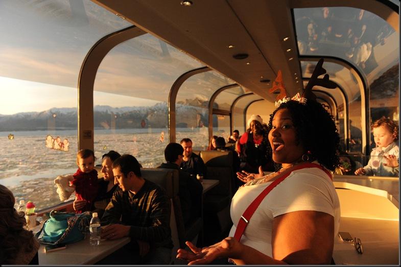 Alaska Railroad Holiday Train