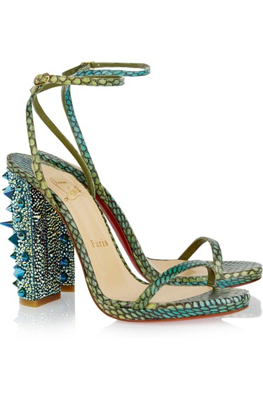 Christian Louboutin Snake Sandals 1