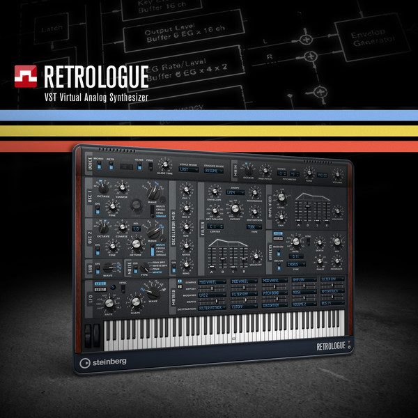 retrologue analog synth
