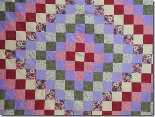 Around the world quilt 009