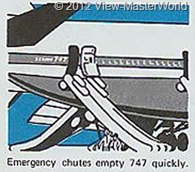View-Master Pan Ams 747 (B747), Scene 3_2: Emergency Chutes Empty 747 Quickly