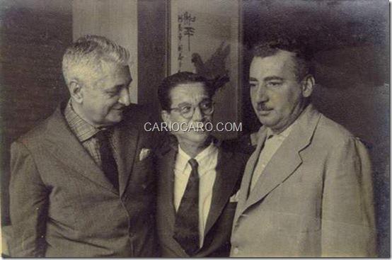 Gilberto Freyre, Anísio Teixeira e Jorge Amado
