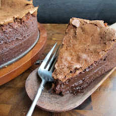Baked Chocolate Mousse Cake